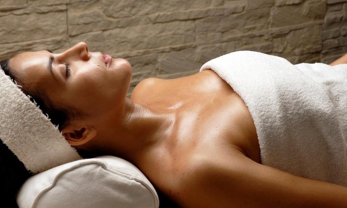 Massage Green Spa - Flower Mound: An Infrared Sauna Session at Massage Green Spa - Flower Mound (56% Off)