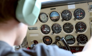 Fly Bay Area: One-Hour Flight Lesson or Starter Pilot Package from Fly Bay Area (Up to 58% Off)