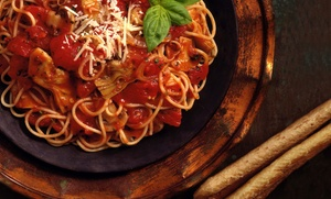 Italian Food for Two or Four at Bella Luna Downtown (58% Off)