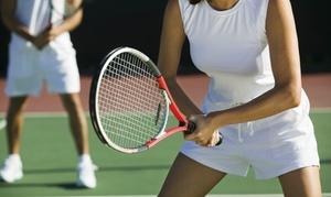 OAM Sport Center: 10 lezioni di tennis da 60 minuti in zona viale Cortina d'Ampezzo da OAM Sport Center (sconto fino a 72%)