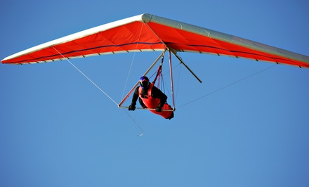 One or Three HangGliding Lessons for One or Two at Gledeco's Hang Gliding School (Up to 55% Off)
