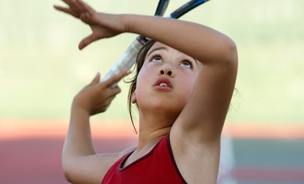 Half- or Full-Day Big Hitters and Junior Development Tennis Camp at Cheviot-Hills Tennis Center (Up to 49% Off)