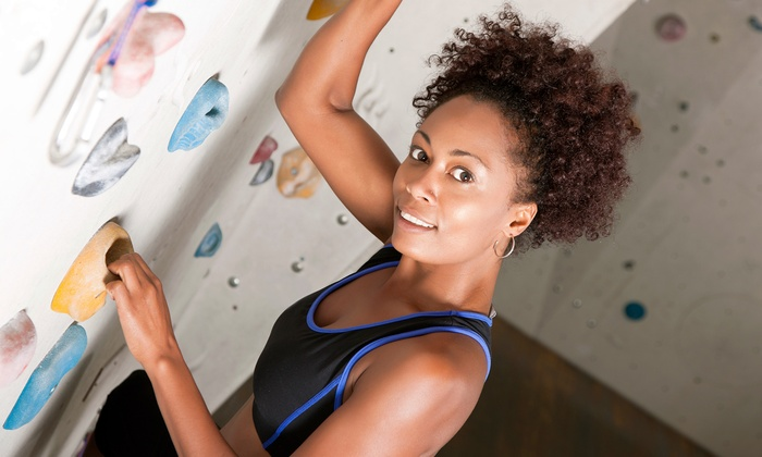 The Bouldering Garden - Third Ward: Rock-Climbing Passes for One or Two at The Bouldering Garden (Up to50%Off). Three Options Available.