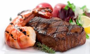 Sea Galley: Steaks and Fresh Seafood for Dinner at SeaGalley & Pepper Mill (Up to 33% Off). Two Options Available.