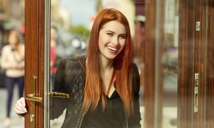 Ginny's Zone - West Meadows: Full Keratin Treatment with Optional Haircut at Ginny's Zone (Up to 66% Off)