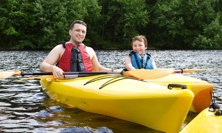 Kayak Rental for One, Kayak or Canoe Rental for Two, or Kayak Lesson for One from Discover Kayak (Up to 75% Off)