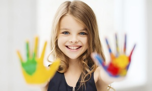 My Kinder Club: Arts and Crafts Session for Groups of 2 or 4 Kids at My Kinder Club (Up to 50% Off)