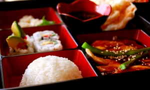 Far East Fusion: Japanese or Malaysian Lunchbox with Side for One ($9), Two ($17.50) or Four ($34) at Far East Fusion (Up to $56 Value)