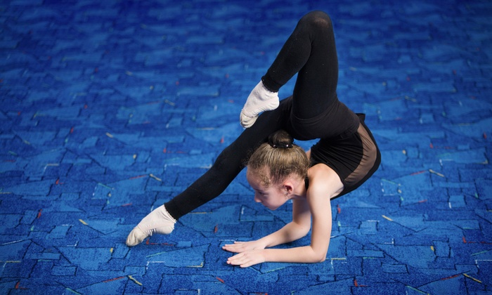 Splitz Gymnastics - Canton: One Month of Classes for Children Aged 18 Months to 3 Years, or 4–18 Years at Splitz Gymnastics (Up to 51% Off)