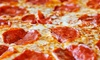 New York Fried Chicken and Pizza - City of Orange: One or Two One-Topping Pizzas with Salads and Drinks at New York Fried Chicken and Pizza (Up to 50% Off)