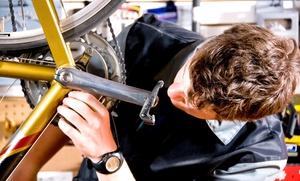 Revisión, ajuste y engrase de 1 o 2 bicicletas desde 9,95 € y con lavado desde 12,95 €