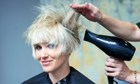 Wash, Condition and Blow-Dry with Optional Foils or Colour at Llani Barbers (Up to 57% Off)