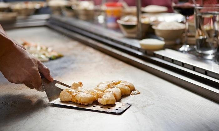 Bisuteki Japanese Steak House - West Revere: $27for $40 Worth of Teppanyaki Fare at Bisuteki Japanese Steak House
