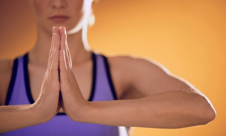 Five Yoga Classes or Two Months of Unlimited Classes at The Yoga Studio Downtown (Up to 68% Off)