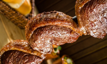 All-You-Can-Eat Brazilian-Steakhouse Rodizio Dinner for Two with Wine at Bull Grill (Up to 42% Off)