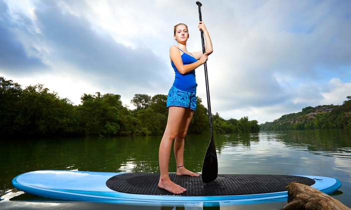 Mad Beach Paddlesports - Mad Beach Rentals: Paddleboard or Kayak Rental for One or Two from Mad Beach Paddlesports (Up to 75% Off)