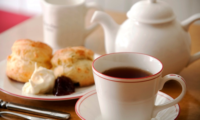 Orchid House Tearoom - Downtown Oshawa: Tea and Scone Experience for Two or Four at Orchid House Tearoom (Up to 50% Off)