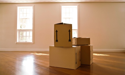 One Hour of Moving Services with Two Movers and One Truck from Bee's Moving Co. (Up to 54% Off)