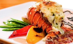 Wray's Caribbean and Seafood: Food and Drinks at Wray's Caribbean and Seafood (Up to 39% Off). Two Options Available.