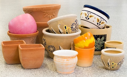 Two-Hour Pottery Class for One or Two at The Potter's Wheel (Up to 41% Off)