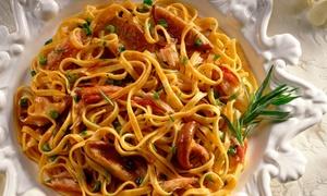 Due Cuori e Una Cucina: Menu napoletano con antipasti, primo, secondo, dolce e vino, in centro Eboli (sconto fino a 64%)