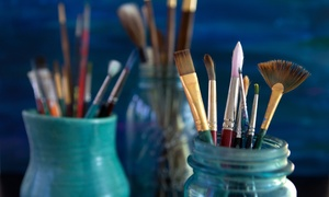 $12 For $25 Worth Of Paint-your-own Ceramic Projects, Fused Glass, Mosaic, And More At The Painter