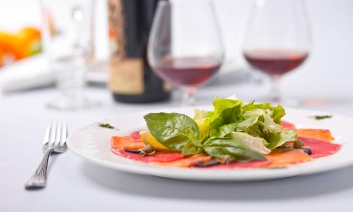 Il Simposio Ristorante - Trento: Menu tipico trentino con dolce e vino per 2 o 4 persone al ristorante Il Simposio, Trento centro (sconto fino a 57%)