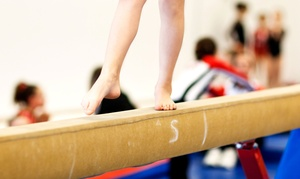 The Academy: 5 or 10 Consecutive Gymnastics, Cheerleading, or Sports-Conditioning Classes at The Academy (Up to 68% Off)