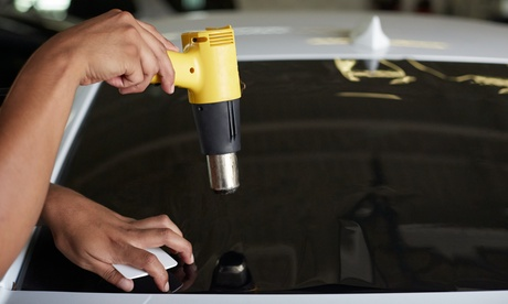 Tinting for Two or Five Car Windows at Custom Car Audio (Up to 54% Off)