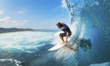 Bautismo de surf para 2 o 4 personas en la playa de las Américas desde 24,90 € con Franz Surf School Tenerife Oferta en Groupon