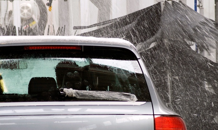 Premier Car Wash - Multiple Locations: One or Three The Works Car Washes at Premier Car Wash (Up to 52% Off)