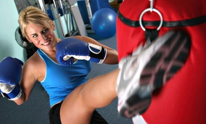 Sweat Box: 5 or 10 Women's Kickboxing Personal-Training Sessions at Sweat Box (Up to 68% Off)