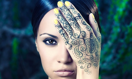 Medium or Large Henna Tattoo at Boco Collections (Up to 50% Off)