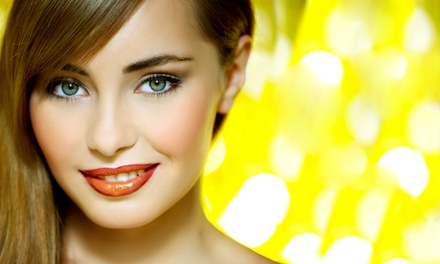 Permanent Eyeliner or Eyebrow Makeup at Permanent Cosmetic Specialist (Up to 68% Off)