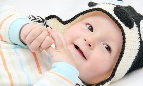 Sesión fotográfica para bebé en estudio desde 24,9 € con Antonio Martín Fotógrafo