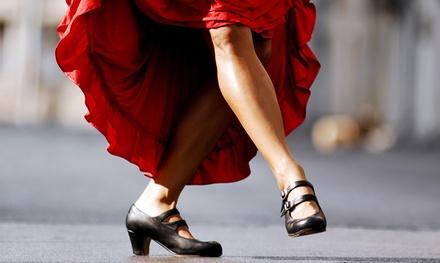 2 ou 3 cours d'initiation de danse sevillanas dès 14,90 € avec Magdalena De Triana FlammeAndCo