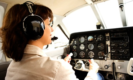 Discovery Flight for Two or Introductory Lesson for One at Above & Beyond Aviation (Up to 52% Off)