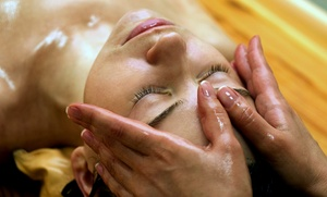 Masaje relajante a elegir con opción a envoltura y tratamiento facial desde 12,95 € en Mandarina Estetic