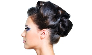 Melissa Hintz @ Salon Wisp: Prom or Wedding Updo or Wash, Blow-Dry, and Formal Hairstyle by Melissa Hintz at Salon Wisp (Up to 40% Off)