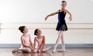 Amadeus Music Institute: Up to Four 45-Minute Kids Ballet or Hip Hop Classes at Amadeus Music Institute (Up to 61% Off)