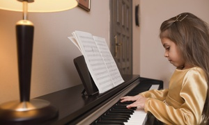 Maughan Studios School of Music: Two or Four 30- or 60-Minute Piano Lessons at Maughan Studios School of Music (Up to 61% Off)
