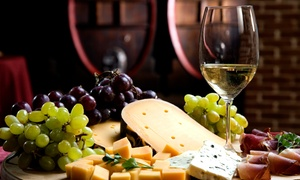 Aria V Wine Bar: Wine and Appetizers for Two or Four at Aria V Wine Bar (Up to 60% Off)