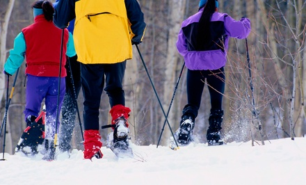 Trail Passes and Snowshoe Rental for Two or Four at Breckenridge Nordic Center (Up to 51% Off)