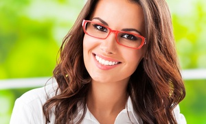 Grandville Optical: Credit Toward Complete Pair of Prescription Glasses with Optional Eye Exam at Grandville Optical (Up to 70% Off)