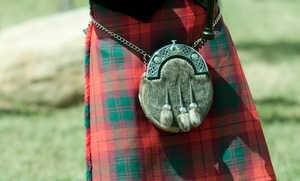 Texas Scottish Festival: Entry for Two or Four to Texas Scottish Festival & Highland Games on May 8 or 10 (Up to 58% Off)