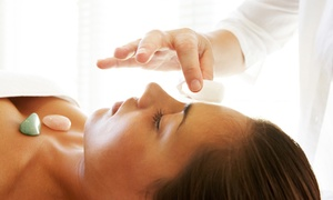 Hymn Wellness: One or Three Chakra or Aura Healing Sessions at Hymn Wellness (Up to 58% Off)