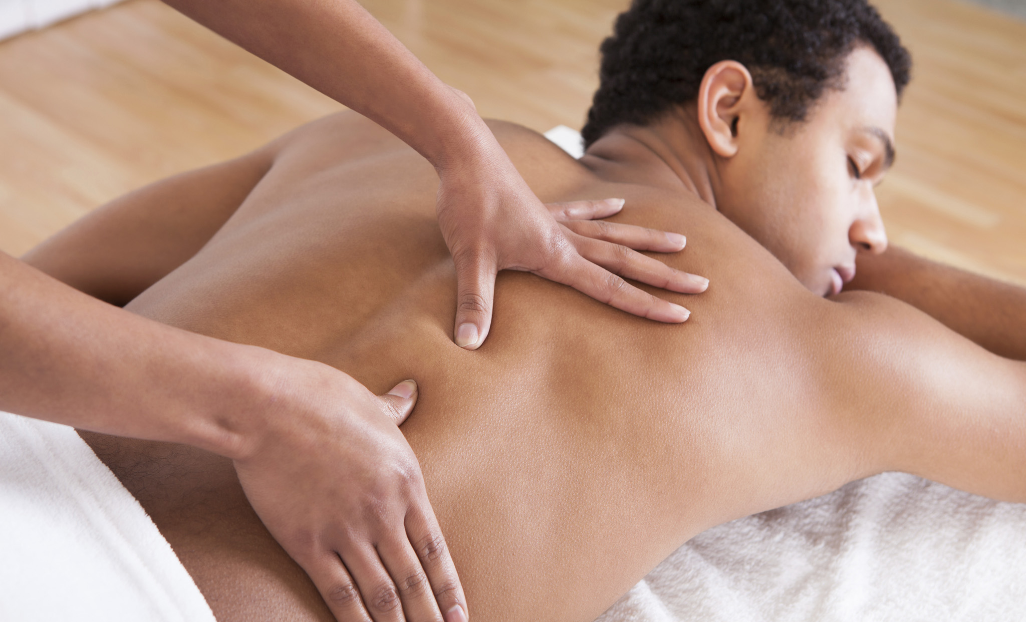 Male to male full body massage