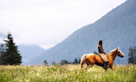 Ranch Outing with Horse Riding, Buffalo Safari, and Rodeo for Two or Four from Grand Canyon Ranch Resort (Up to 67% Off)