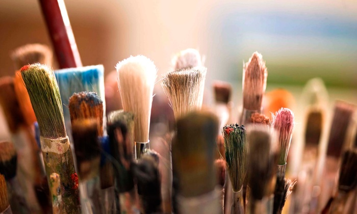 M.D. Art Studio - Mid-Wilshire: Two-Hour BYOB Painting Class for One, Two, or Six at M.D. Art Studio (Up to 65% Off)