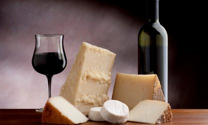 image for <strong><strong>Wine</strong> Tasting</strong> with <strong>Wine</strong> Glasses, Cheese Platter, and 15% off <strong>Wine</strong> for Two or Four at Sweet Baby Vineyard (Up to 50% Off)